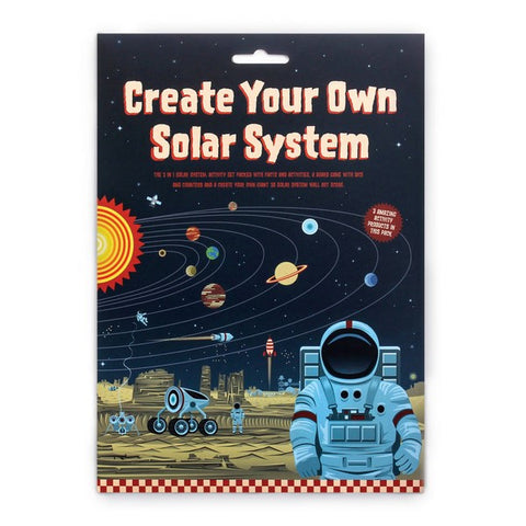 Create your own Solar System - children's craft set and game