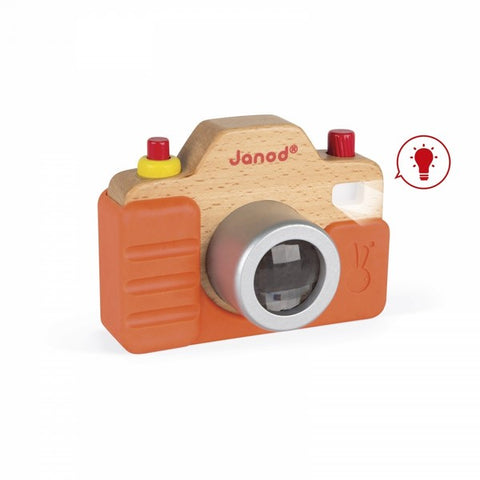 Sound Camera - wooden pretend camera for children