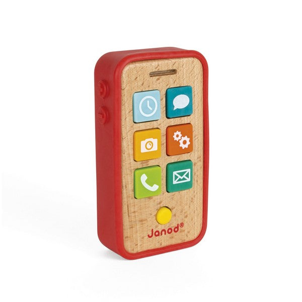 Sound Telephone - wooden toy phone for children