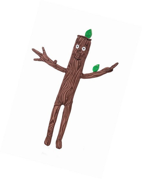 Stick Man cuddly toy