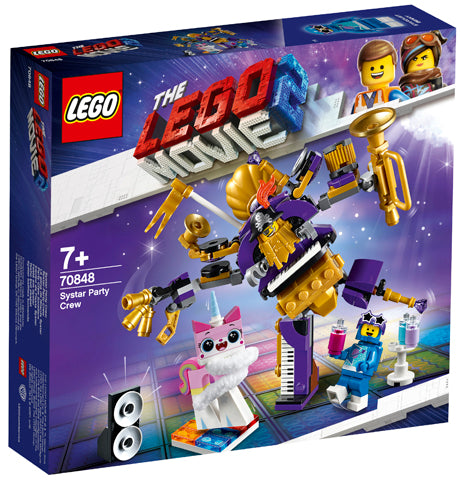 Lego - Lego Movie 2 Systar Party Crew V29 - 70848