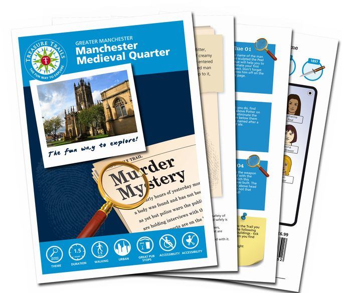 Murder Mystery Themed Treasure Trail - Manchester Medieval Quarter, Greater Manchester