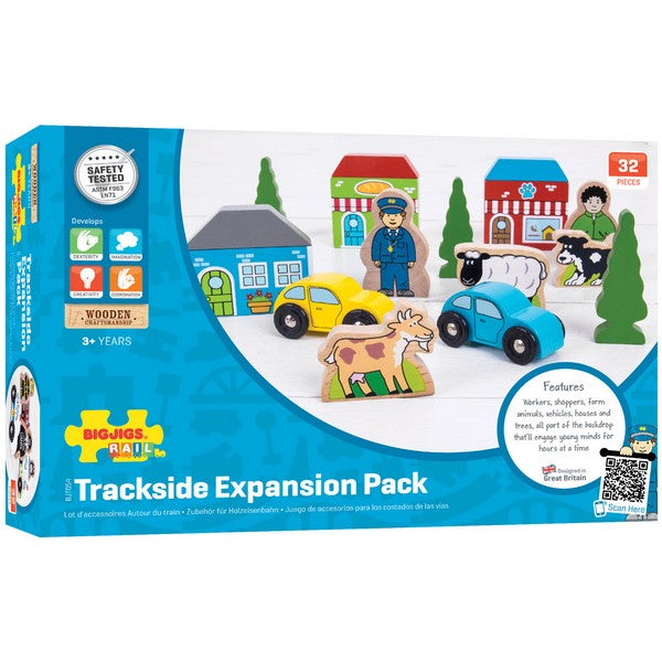 Big Jigs Wooden Rail - Trackside Accessory Pack