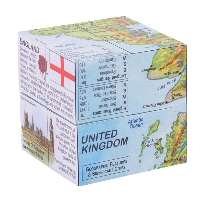 Zoobookoo Cube Book - United Kingdom