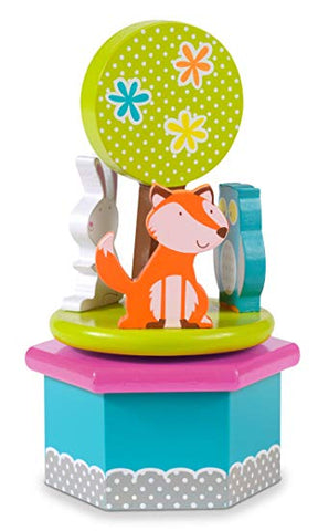 Woodland Animals Musical Box