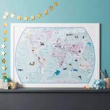 Maps International - The World Sticker Map