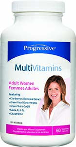 Progressive Multi Adult Women 60 Capsules