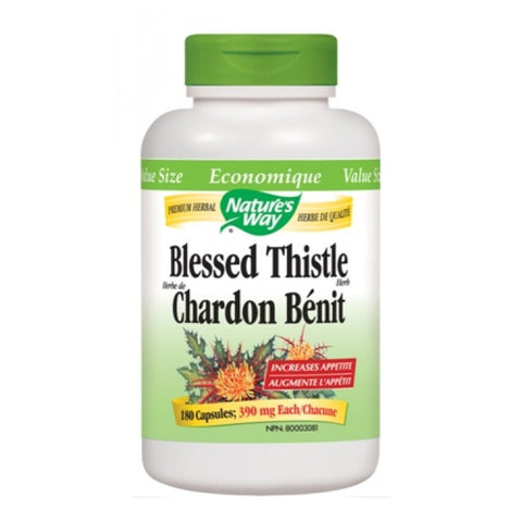 Nature's Way Blessed Thistle Herb COG 180 Count