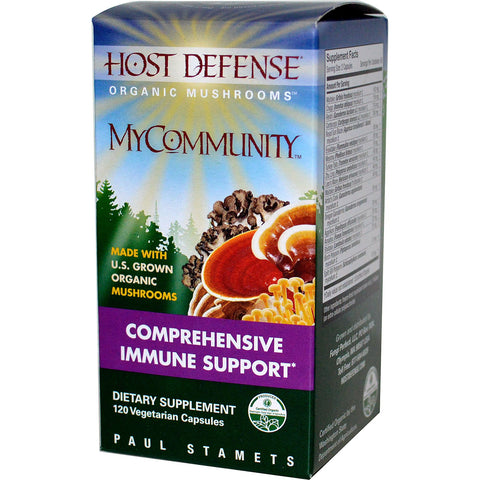 Host Defense MyCommunity Immune Support 120 Veggie Caps