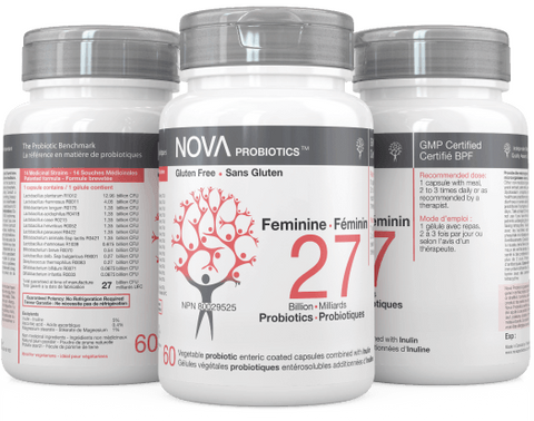 NOVA Probiotics Feminine 27 Billion