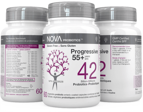 NOVA Probiotics Progressive 55+ years 42 Billion