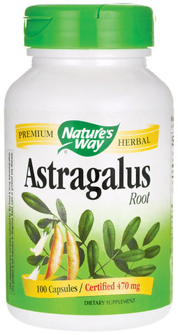 Nature's Way Astragalus Root -- 470 mg - 100 Capsules