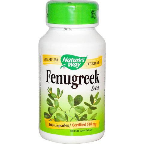 Nature's Way, Fenugreek Seed, 610 mg,