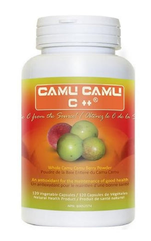 Uhtco Camu Camu C++ veg caps - Fruit Extract 30:1 - 120 caps. (Raw, Organic Pure Vitamin C)