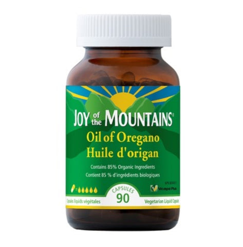 Joy of the Mountains  Certified Organic Non-GMO Wild Oregano Oil 90 capsules