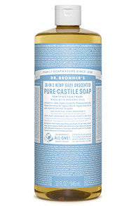 Dr. Bronner's Baby Unscented 32oz.