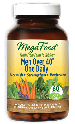 MegaFood Men Over 40™ 60 Tablets