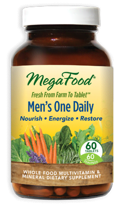 Mega Food Men's One Daily 60 Tablets