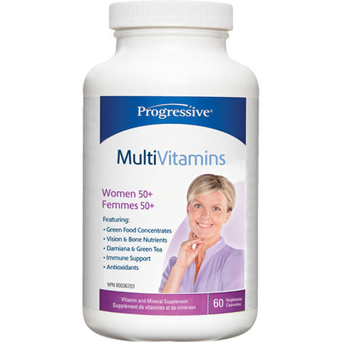 Progressive Multi Women 50+ 60 Capsules