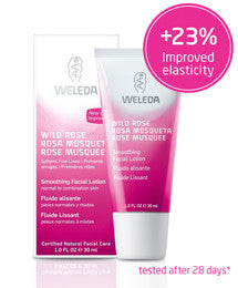 Weleda Wild Rose Smoothing Facial Lotion 30 ml.