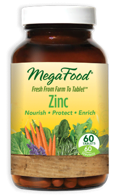 Mega Food Zinc 60 tablets