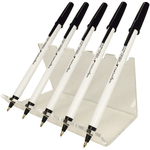Acrylic Pen Stand Display for Up To Five Pens
