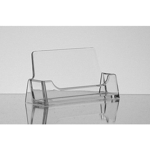 Clear Acrylic Business Card Holder