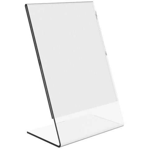 "Slanted 4"" x 6"" Sign Holder"