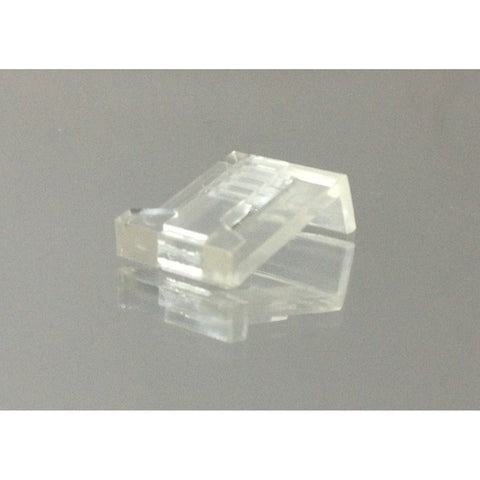 50-Pack of Clear Plastic Ring Clips