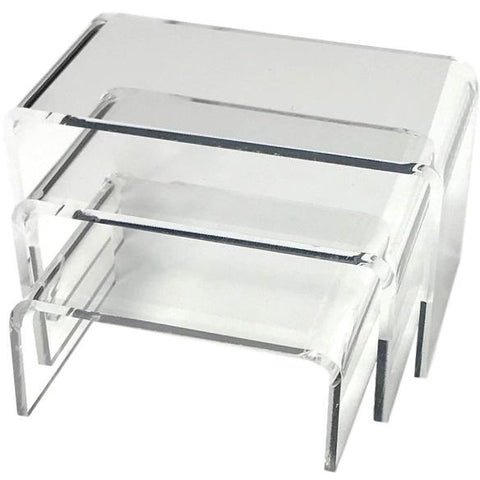 Small Acrylic 3-Piece Riser Display Set