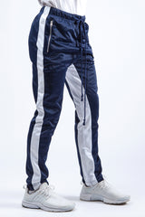 Navy/ White Duo Track Pant