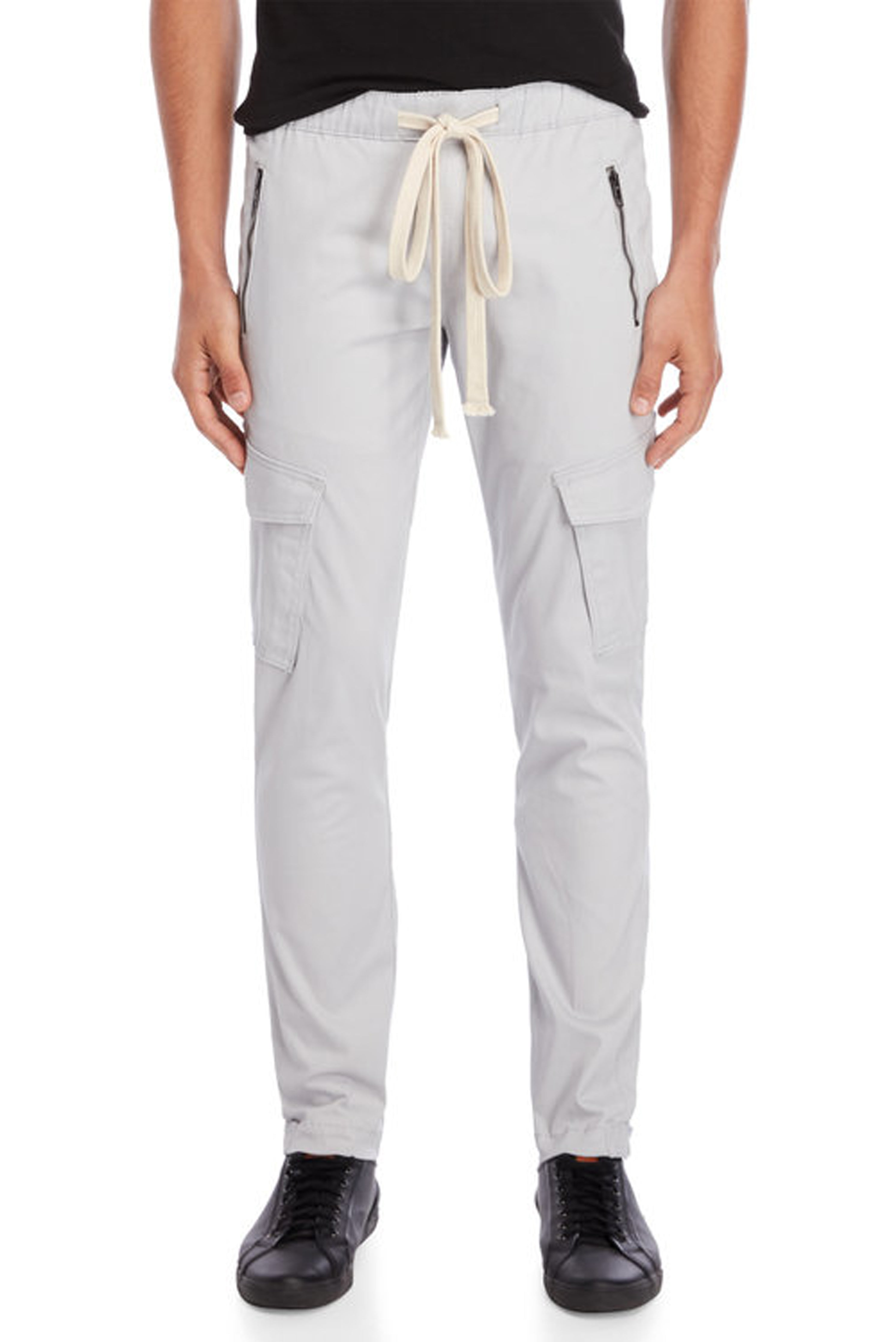 Grey Cargo Snap Pant - American Stitch