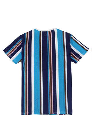 Blue Stripe Tee - American Stitch