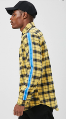 Yellow Flannel Tape Shirt