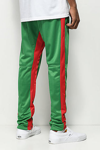 Green/ Red Duo Track Pant - American Stitch