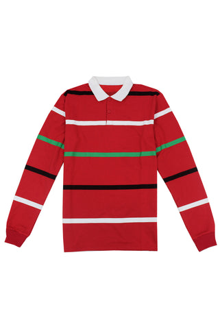 Red Stripe Rugby