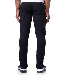 Black Pop Out Cargo Pant