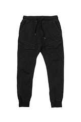 Black Dyed Jogger - American Stitch