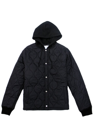 Black Liner Jacket - American Stitch