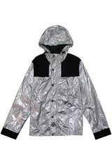 Silver Metallic Jacket