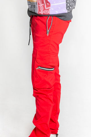 Red Water Zip Jogger