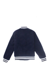 Navy Sherpa Jacket