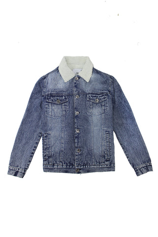 Denim Sherpa Jacket - American Stitch