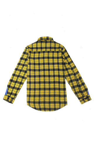 Yellow Flannel Tape Shirt - American Stitch