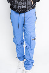 Blue Water Zip Jogger