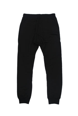 Black Double Zip Jogger - American Stitch