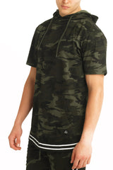 Camo Athletic Hoodie Tee - American Stitch