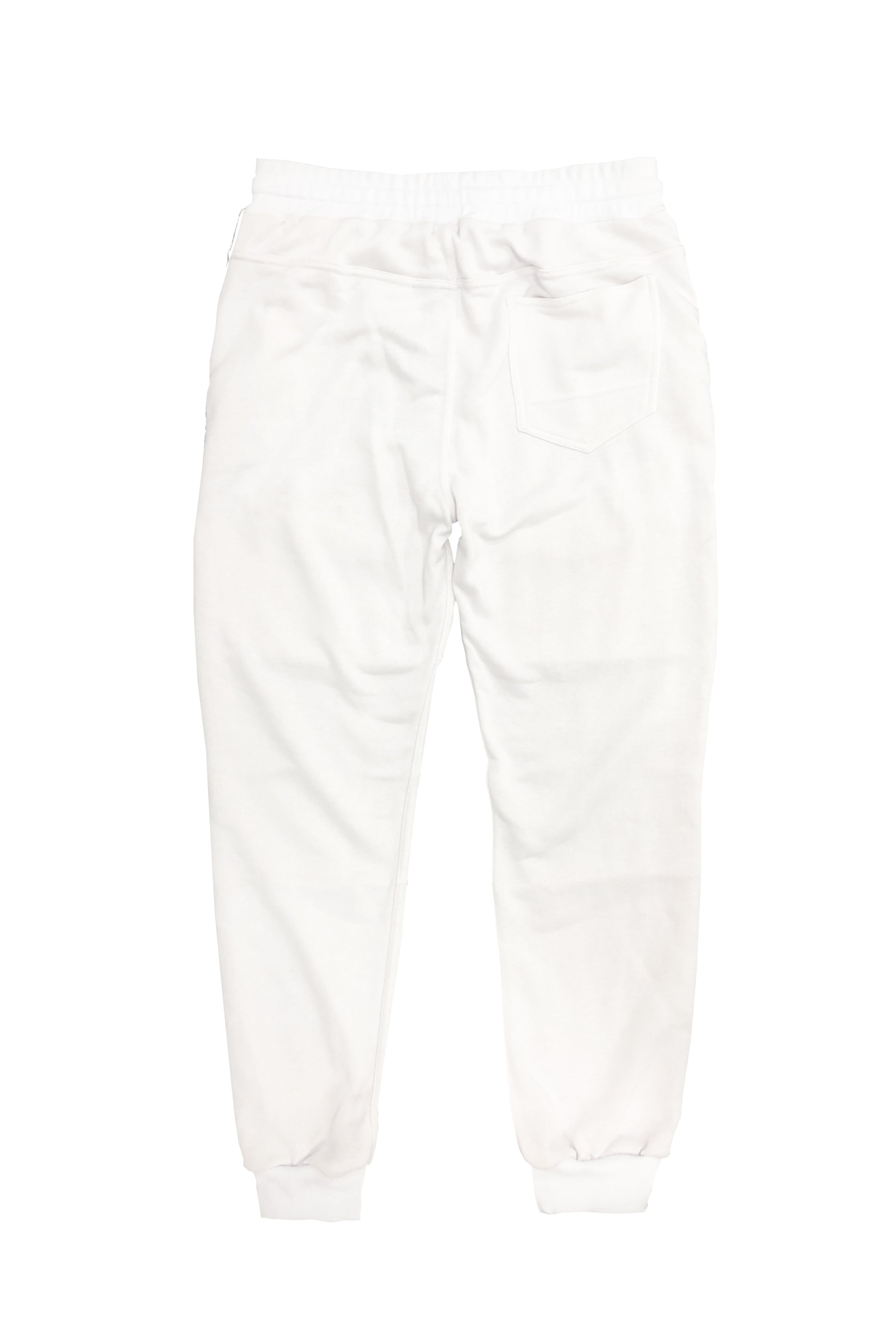 Front Cargo Jogger – White