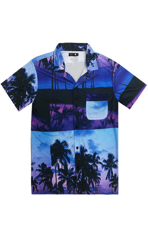 Aloha Hawaiian Tee – Purple