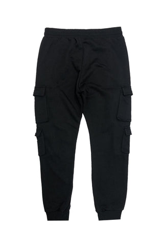Multi Pocket Jogger - Black